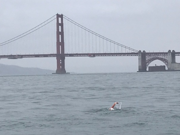 mile rock approaching GGB May 2019